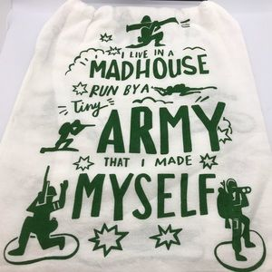 Primitives by Kathy Live in Madhouse Kitchen Towel